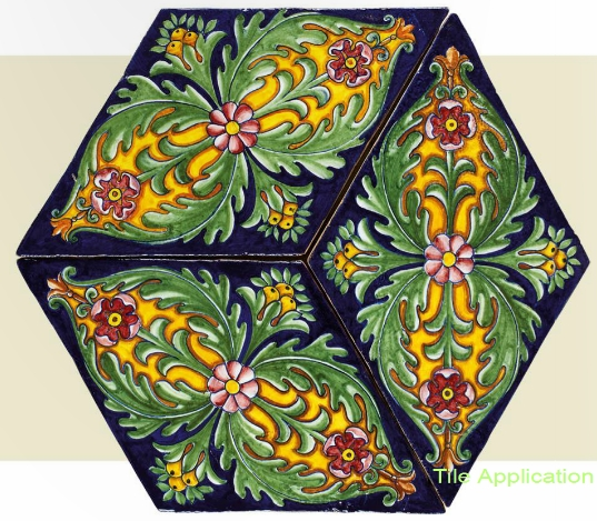 Hand Painted Italian Ceramic Tiles