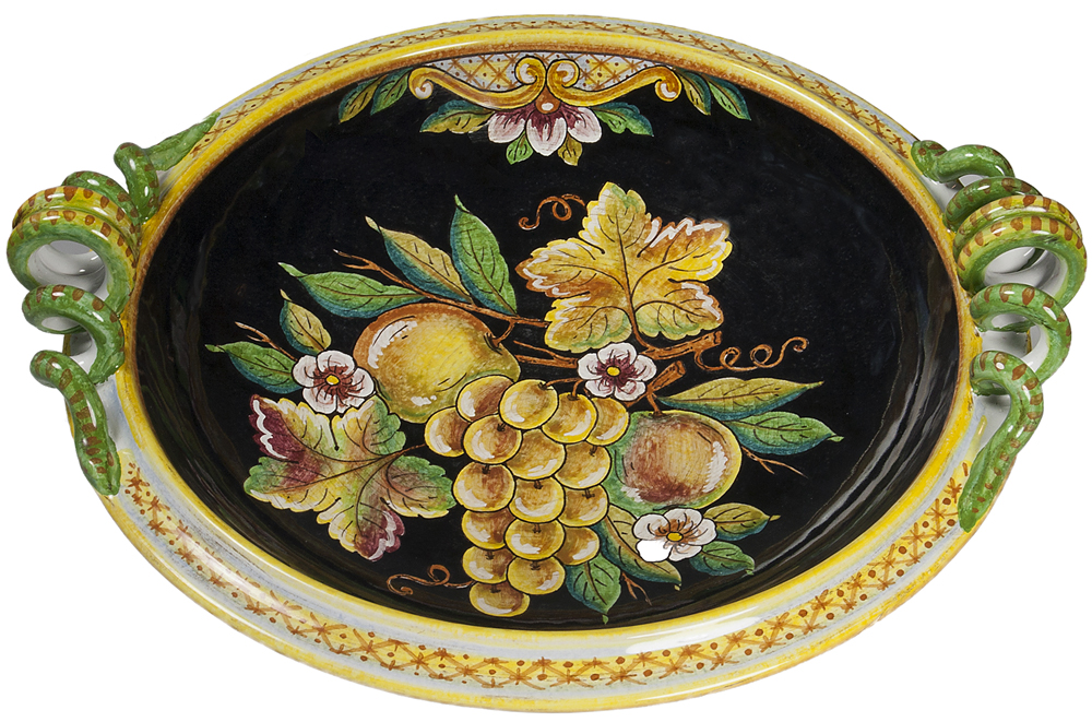 Hand Painted Italian Ceramic Platter