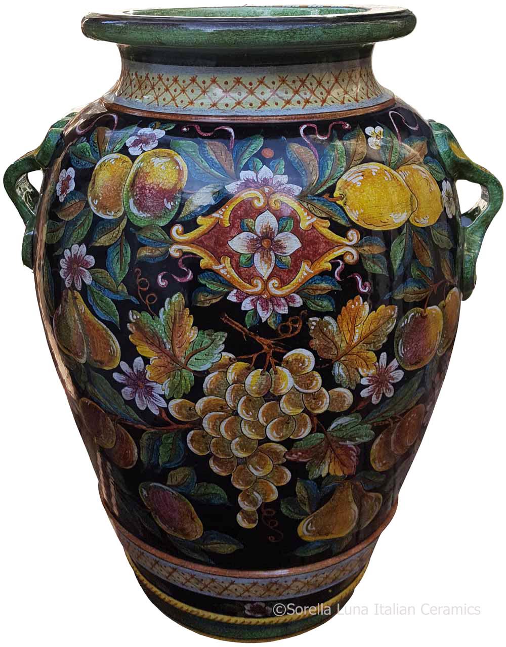 Italian Floor Vase