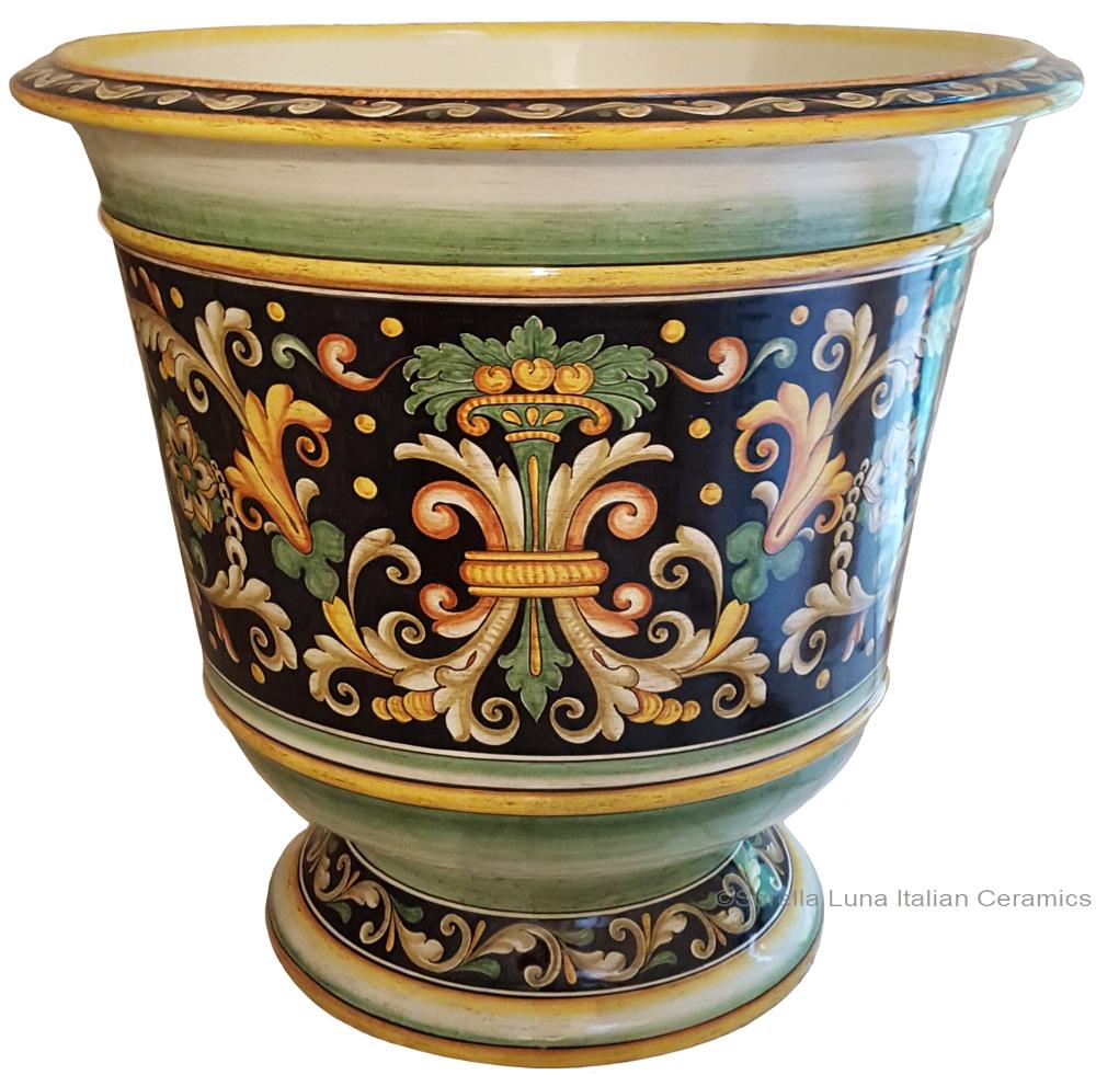 Italian Ceramic Vase Planters
