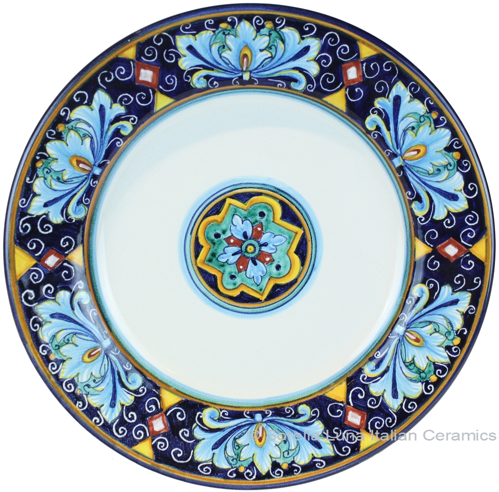 Italian Majolica Charger Dinner Plate