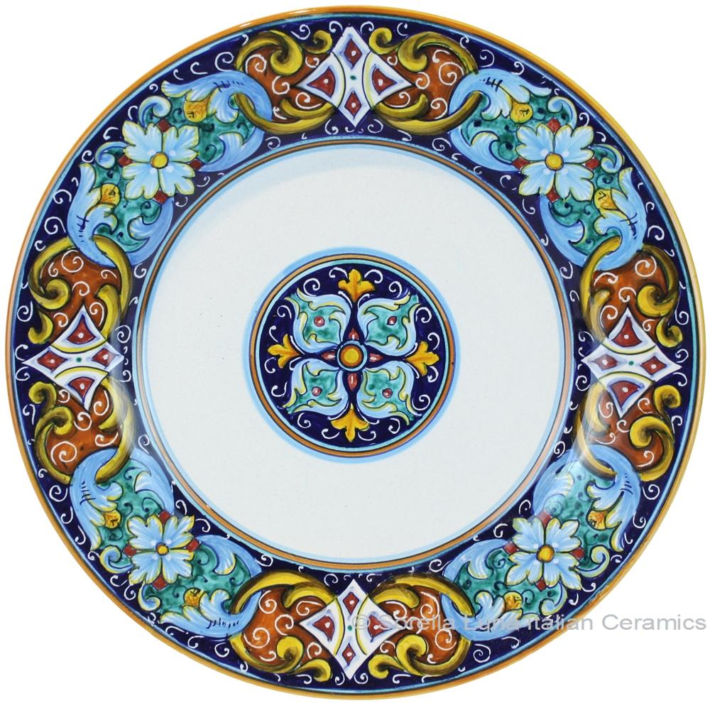 Decorative Ceramic Plates Italian Ceramic Dinner Plate  sc 1 st  Wall Plate Design & Decorative Ceramic Plates | Wall Plate Design Ideas