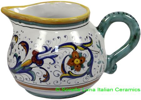 Deruta Italian Ceramic Creamer