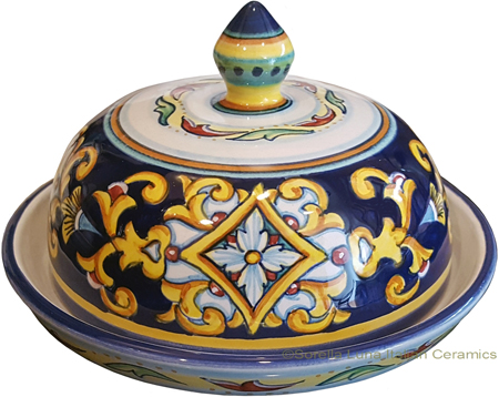 Round Covered Butter Dish - Ricco Vario