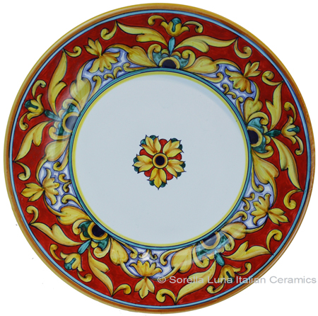 Deruta Italian Salad Plate