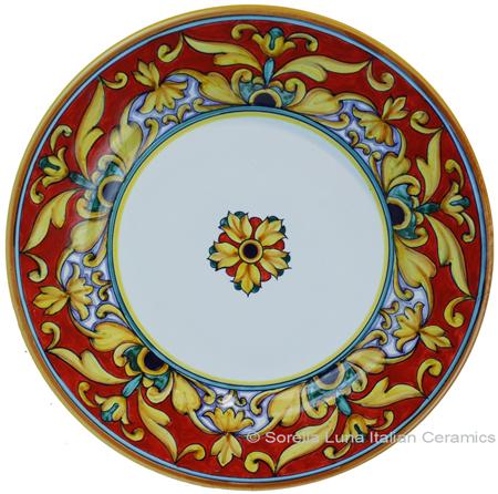 Deruta Italian Salad Plate - Brocatto