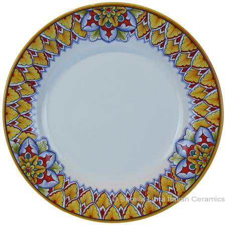 Deruta Italian Salad Plate - Summer