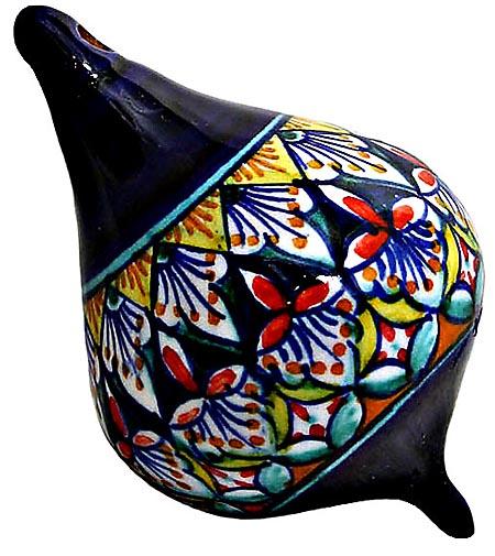Ceramic Majolica Christmas Ornament Deruta Ricco F OV5