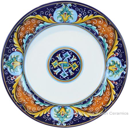 Deruta Italian Pasta Plate - Ricco Vario 5