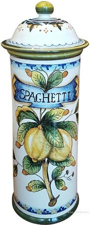 Ceramic Spaghetti Jar - Lemons