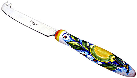 Deruta Italian Cheese knife