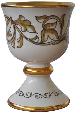 Wine Chalice/Goblet - Girali Verdi Oro