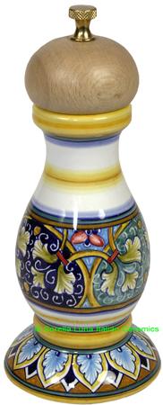 Deruta Italian Ceramic Pepper Grinder