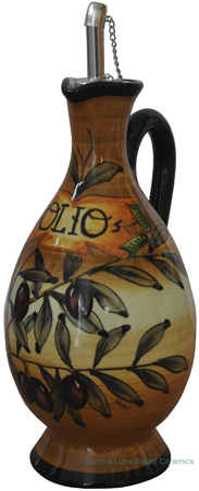 Olive Oil Dispenser - Tuscan Brown Olive