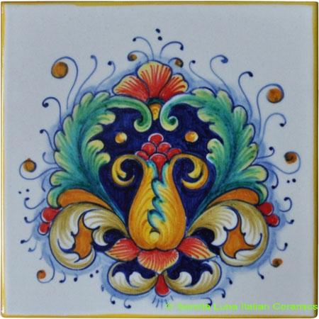 Tile Flower Design 197