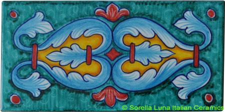 Tile Deruta Ricco Verde