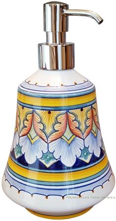 Italian Ceramic Soap Dispenser - Vario