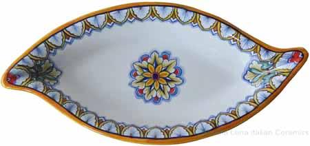Italian Cuved Service Dish - Vario