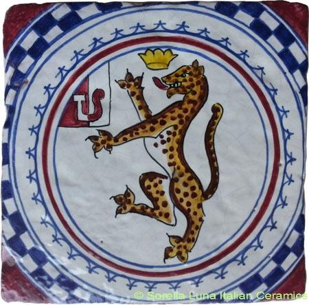 Tile Sienna Jaguar (Pantera)