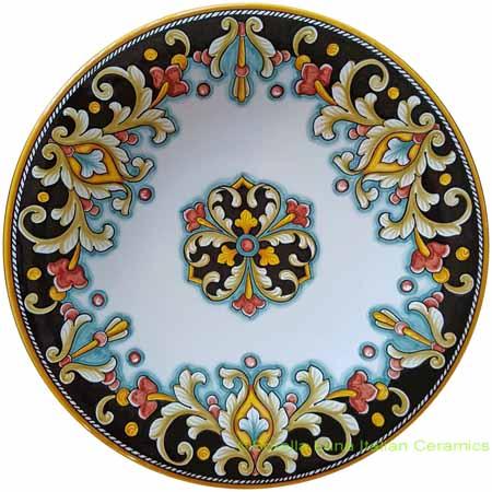 Ceramic Majolica Plate D206 30cm