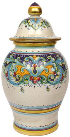 Italian Ceramic Centerpiece Urn - DR ORO