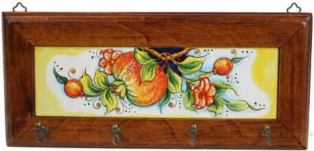 Key Holder - Pomegranates