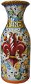 Tuscan Vase/Wine Carafe - Giglio Rosso 25cm