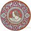 Majolica Female Profile Plate - (Raffaello Chiuchiu)