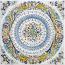 Tile Delfini Ricco Deruta NC - 25cm