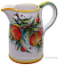 Ceramic Majolica Pitcher Pomegranate 1210 20cm