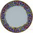 Deruta Italian Charger Plate - Acanthus Red/Yellow