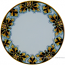 Deruta Italian Charger Plate - FDL Black/Brown