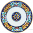 Deruta Italian Dinner Plate - Ricco Vario 3
