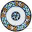Deruta Italian Pasta Plate - Ricco Vario 1