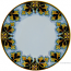 Deruta Italian Salad Plate - FDL Black/Brown