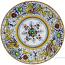 Deruta Italian Salad Plate - Raffaellesco with Center