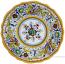 Deruta Italian Salad Plate - Raffaellesco Scalloped with Center