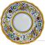 Deruta Italian Salad Plate - Raffaellesco Scalloped