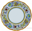 Deruta Italian Dinner Plate - Raffaellesco Scalloped