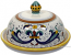 Round Covered Butter Dish - Ricco Deruta