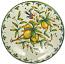 Ceramic Majolica Plate Tuscany Amalfi Lemon NN 40cm