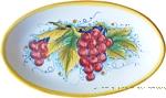 Oval Plate - Uva Rossa 1070 24cm