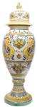 Italian Ceramic Floor Urn - Raffaellesco