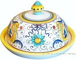 Round Covered Butter Dish - Raffaellesco