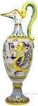 Ceramic Maiolica Anfora Pitcher Raffaellesco 58cm