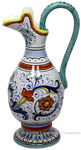 Ceramic Maiolica Anfora Pitcher Ricco Deruta 22cm