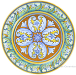 Deruta Italian Salad Plate - TAV H