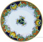 Deruta Italian Salad Plate - Vinci Ricco