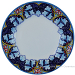 Deruta Italian Salad Plate - Winter