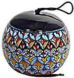 Ceramic Majolica Christmas Ornament Deruta Ricco F1 11cm